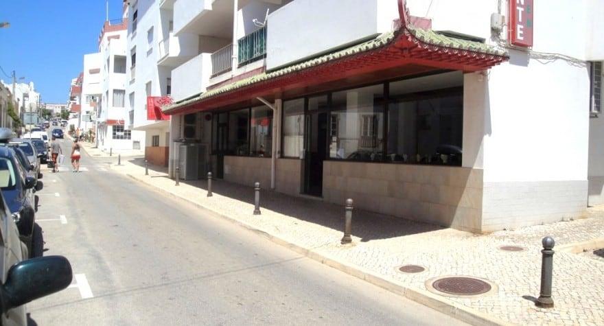 Restaurant On Praia Da Luz Portugal